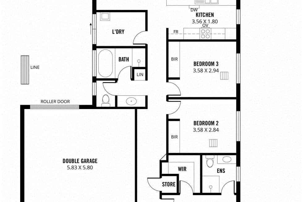 Floorplan of Homely house listing, 25 Bradford Street, Mount Barker SA 5251