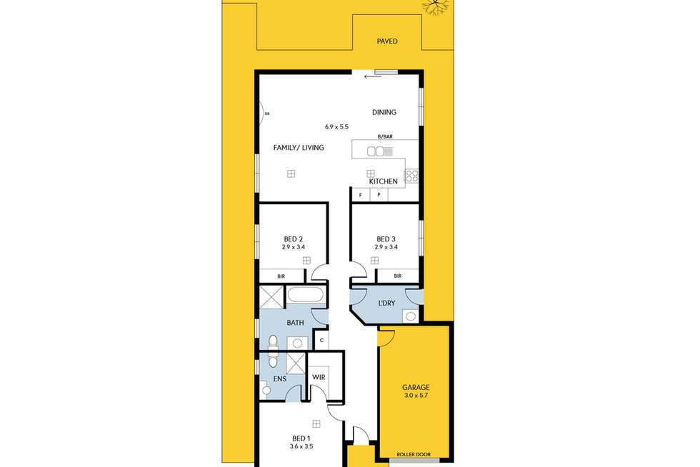 Floorplan of Homely house listing, 25 Valiant Road, Munno Para West SA 5115