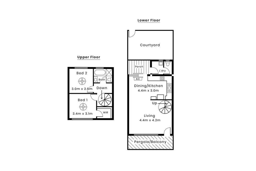 Floorplan of Homely unit listing, 11/29 Norton Summit Road, Woodforde SA 5072