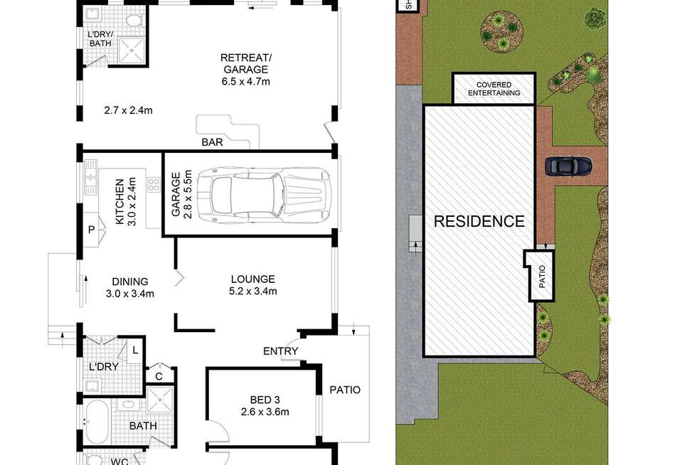 Floorplan of Homely house listing, 547 Woodville Road, Guildford NSW 2161
