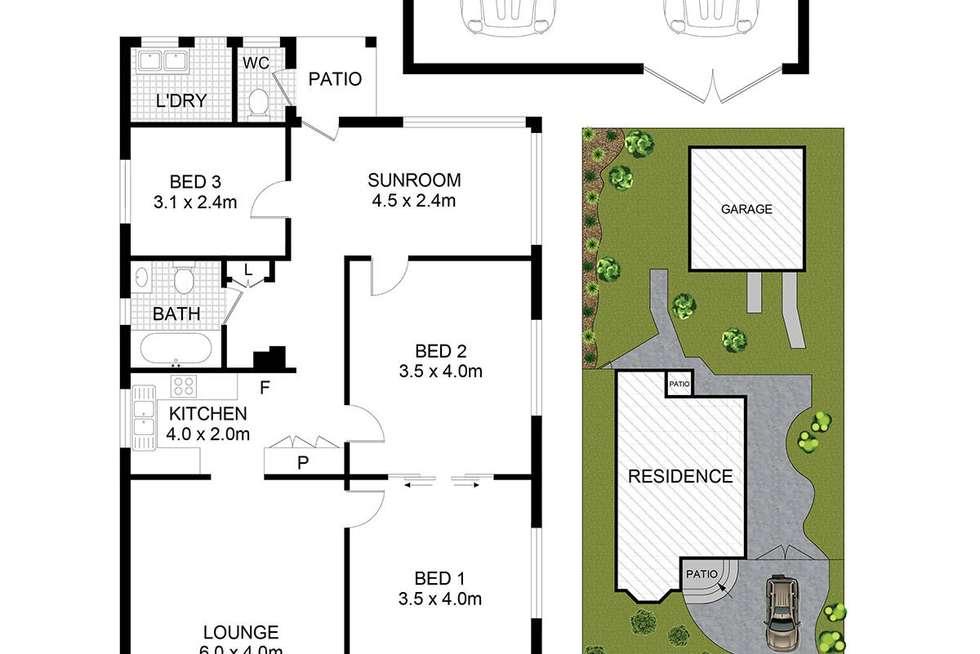 Floorplan of Homely house listing, 79 Joseph Street, Cabramatta West NSW 2166