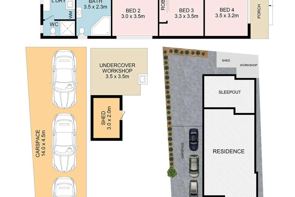Floorplan of Homely house listing, 59 Margaret Street, Fairfield West NSW 2165