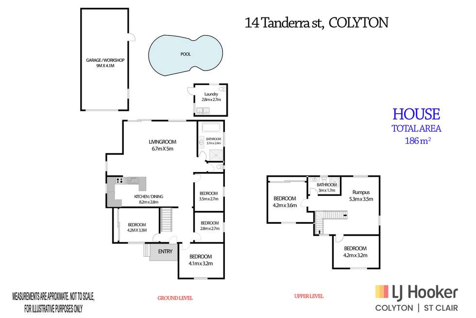 Floorplan of Homely house listing, 14 Tanderra Street, Colyton NSW 2760