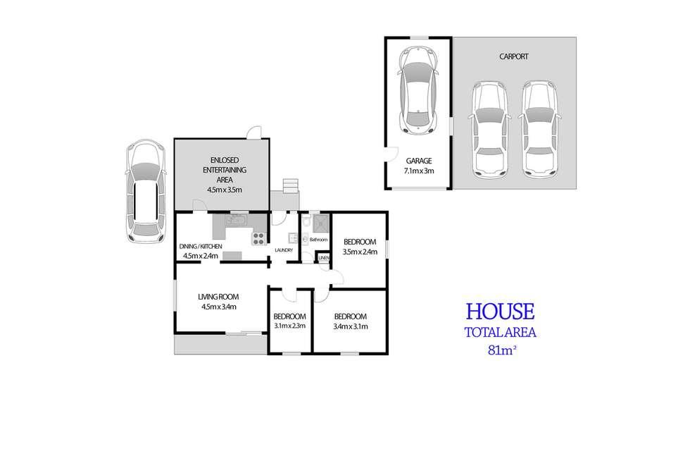 Floorplan of Homely house listing, 30 Leonard Street, Colyton NSW 2760