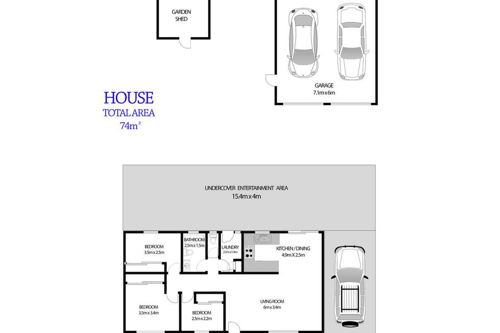 Floorplan of Homely house listing, 6 BANKS Drive, St Clair NSW 2759
