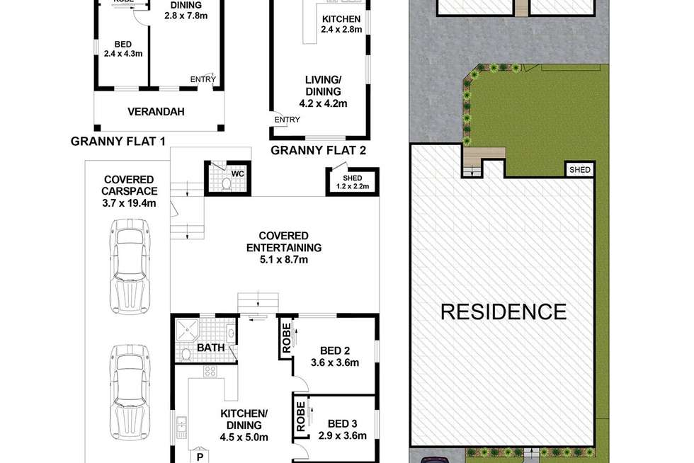 Floorplan of Homely house listing, 143 Rawson Road, Guildford NSW 2161