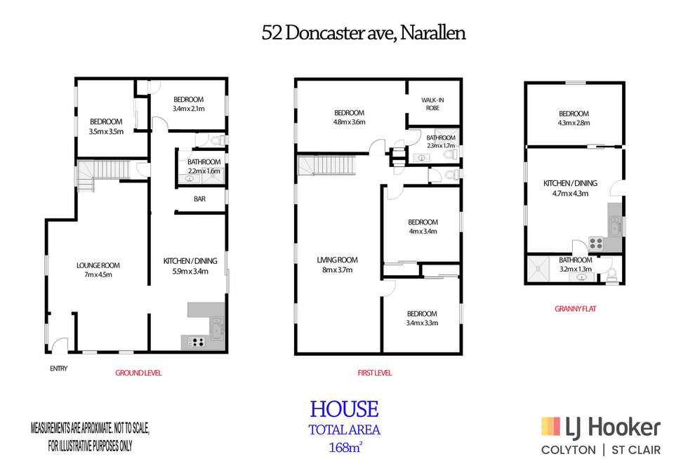 Floorplan of Homely house listing, 52 Doncaster Avenue, Narellan NSW 2567