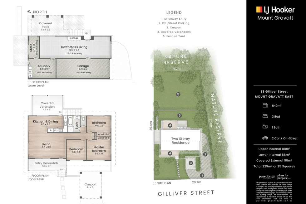 Floorplan of Homely house listing, 33 Gilliver Street, Mount Gravatt East QLD 4122
