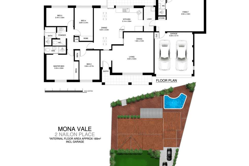 Floorplan of Homely house listing, 2 Nailon Place, Mona Vale NSW 2103