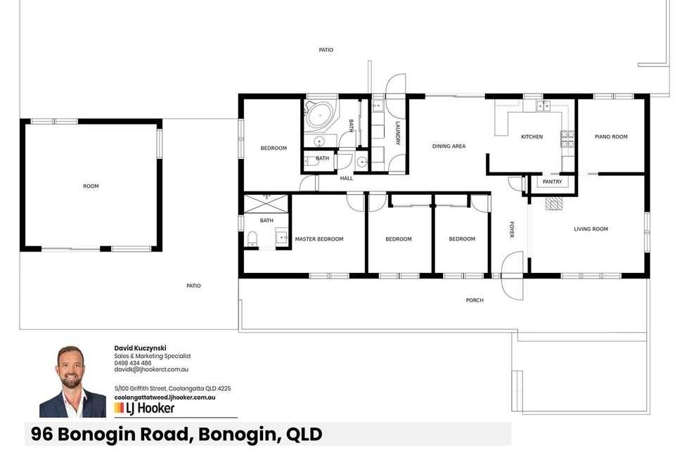 Floorplan of Homely ruralOther listing, 96 Bonogin Road, Bonogin QLD 4213