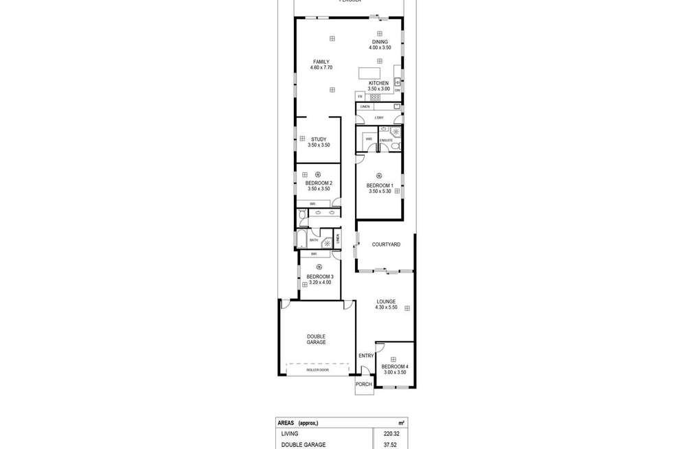 Floorplan of Homely house listing, 12b Cranbrook Avenue, Rostrevor SA 5073