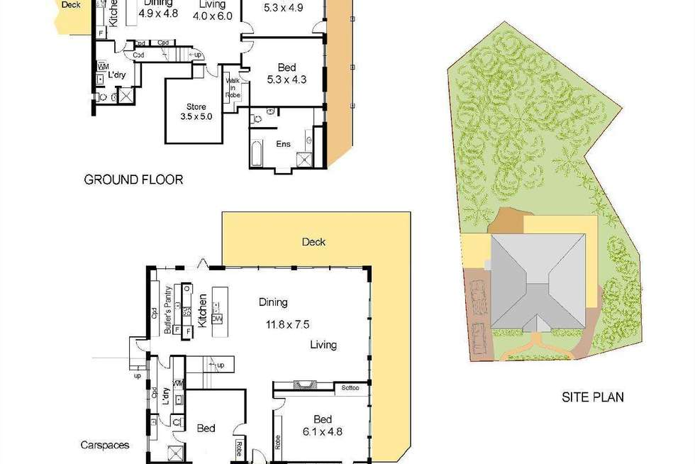 Floorplan of Homely house listing, 5 Northview Road, Palm Beach NSW 2108