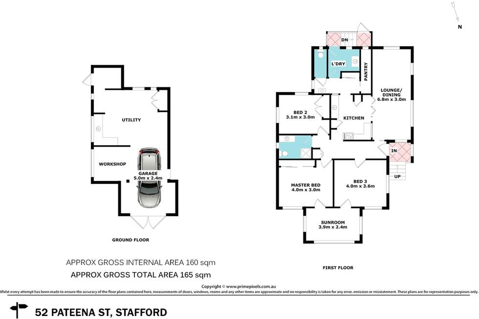 Floorplan of Homely house listing, 52 Pateena Street, Stafford QLD 4053