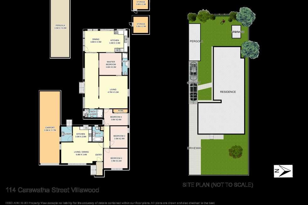 Floorplan of Homely house listing, 114 Carawatha Street, Villawood NSW 2163