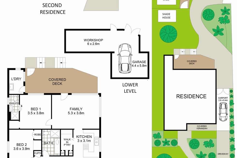 Floorplan of Homely house listing, 2 Secret Corner Road, Rathmines NSW 2283