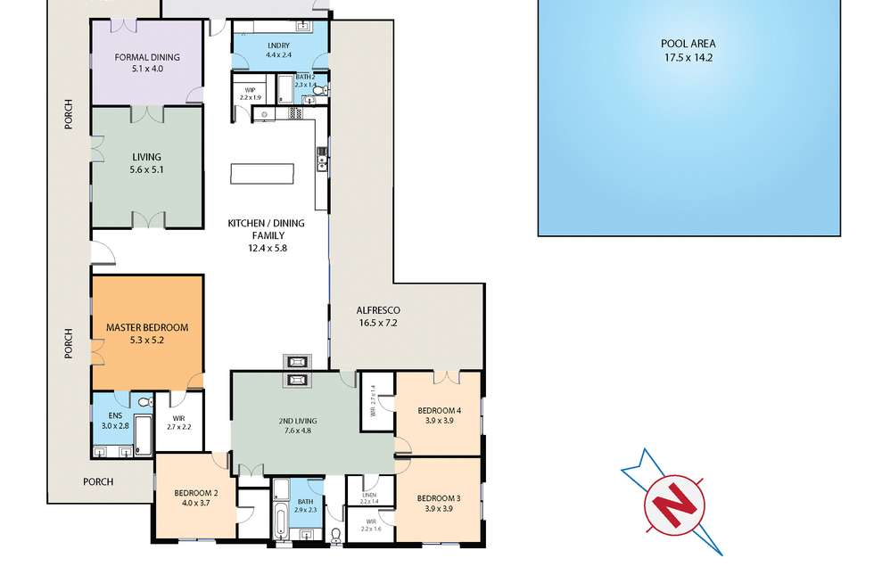 Floorplan of Homely house listing, 750 Castlereagh Road, Castlereagh NSW 2749