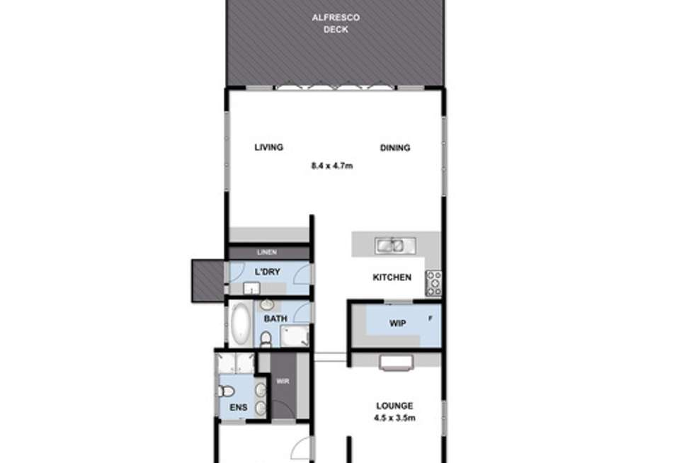 Floorplan of Homely house listing, 11 Thorne Street, East Geelong VIC 3219