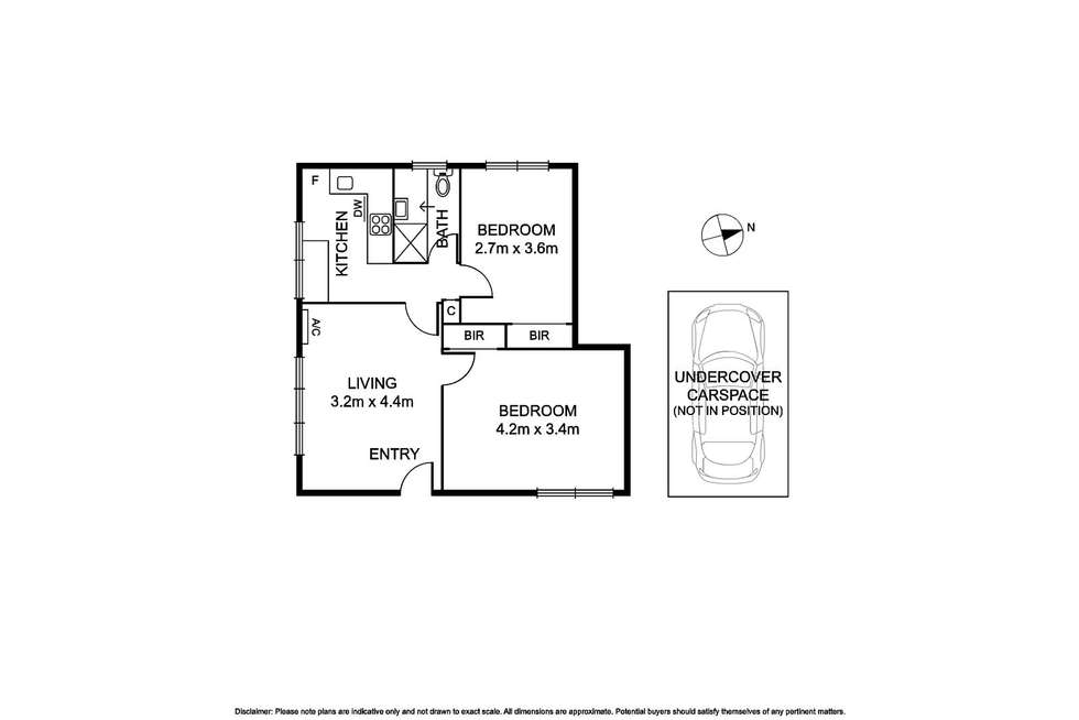 Floorplan of Homely apartment listing, 10/9 Park Avenue, Glen Huntly VIC 3163