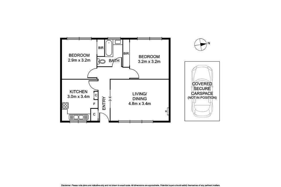 Floorplan of Homely apartment listing, 7/13 Waratah Avenue, Glen Huntly VIC 3163