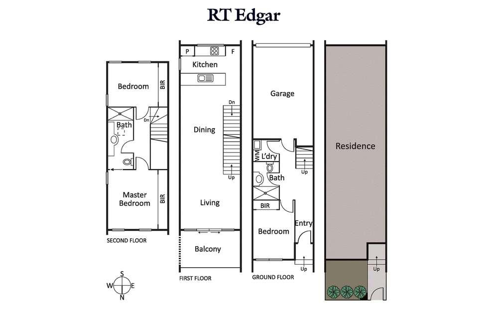 Floorplan of Homely house listing, 10 Oak Terrace, Wheelers Hill VIC 3150