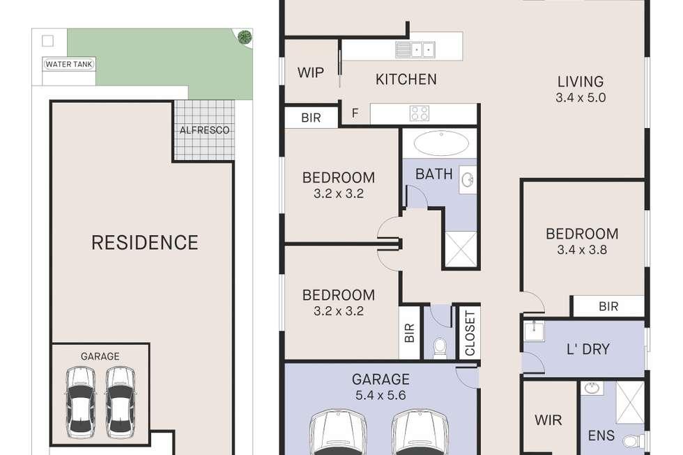 Floorplan of Homely house listing, 37 Loveday Street, Oran Park NSW 2570