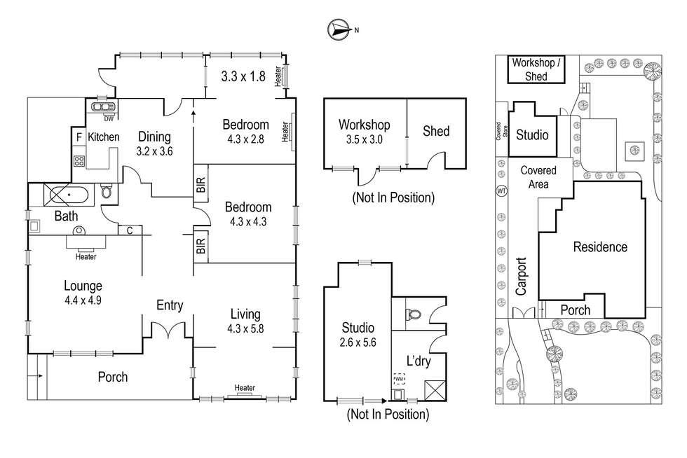 Floorplan of Homely house listing, 89 Marshall Street, Ivanhoe VIC 3079