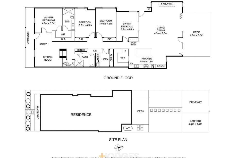 Floorplan of Homely house listing, 28 Candover Street, Geelong West VIC 3218