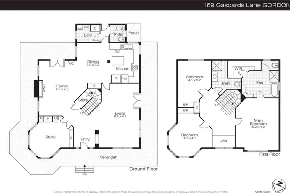 Floorplan of Homely house listing, 169 Gascards Lane, Ballan VIC 3342