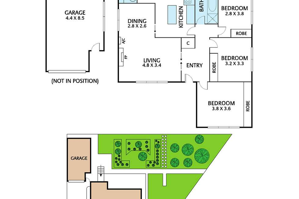 Floorplan of Homely house listing, 4 Paula Court, Oakleigh South VIC 3167