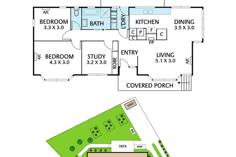 Floorplan of Homely house listing, 3 Olympic Court, Forest Hill VIC 3131