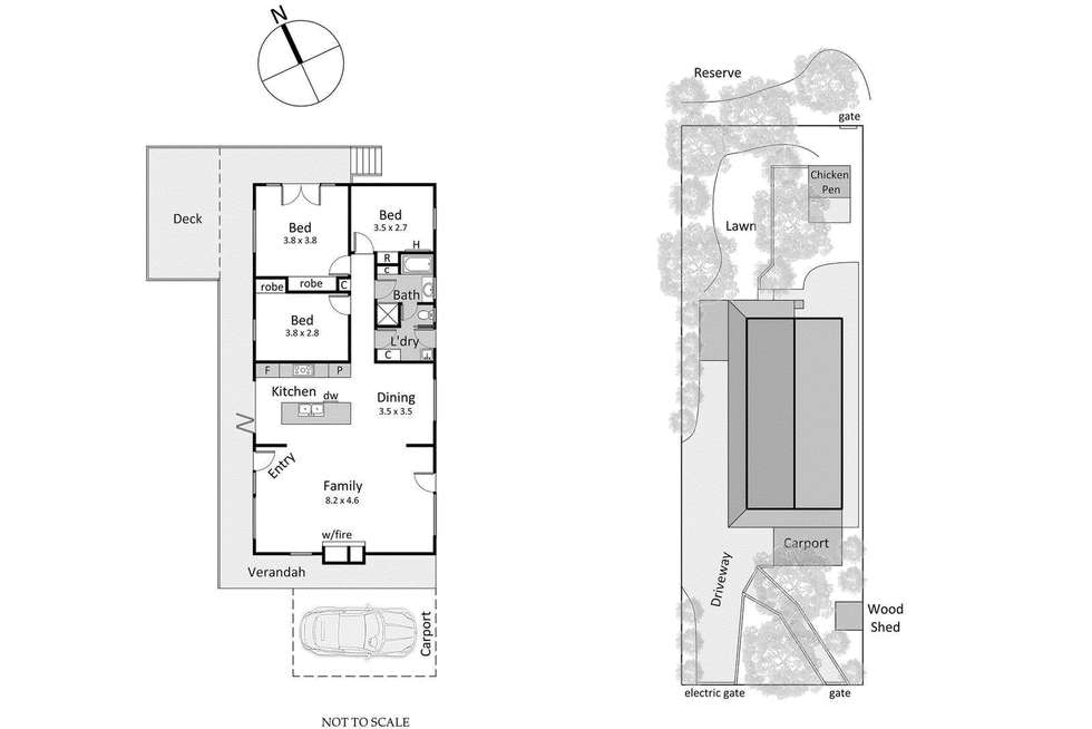 Floorplan of Homely house listing, 7 Mason Street, Mount Eliza VIC 3930