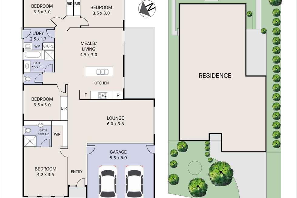 Floorplan of Homely house listing, 10 Nepeta Way, Pakenham VIC 3810