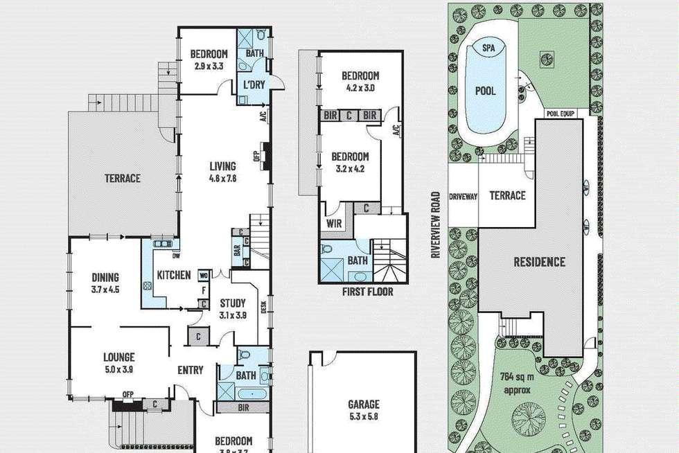 Floorplan of Homely house listing, 35 Fortuna Avenue, Balwyn North VIC 3104