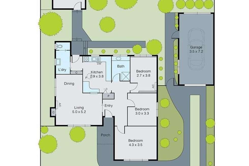 Floorplan of Homely house listing, 32 Vernon Street, Huntingdale VIC 3166