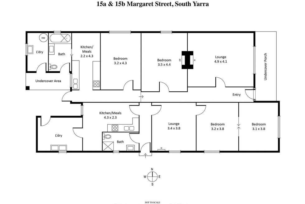 Floorplan of Homely house listing, 15 Margaret Street, South Yarra VIC 3141