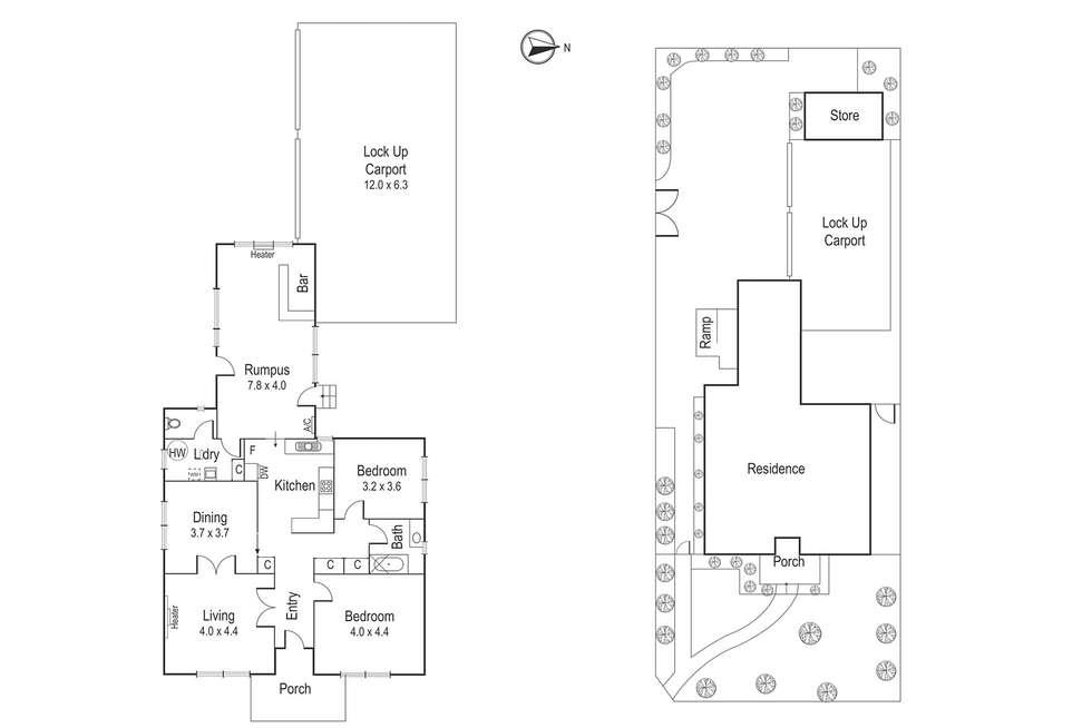 Floorplan of Homely house listing, 262 Waterdale Road, Ivanhoe VIC 3079