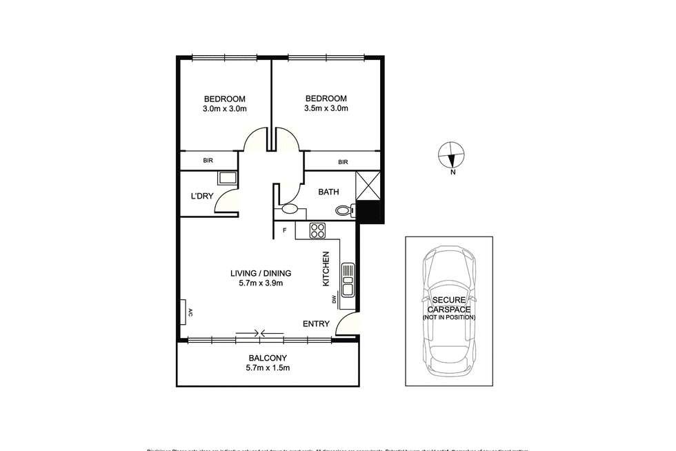 Floorplan of Homely apartment listing, 7/26 Mcarthur Street, Malvern VIC 3144