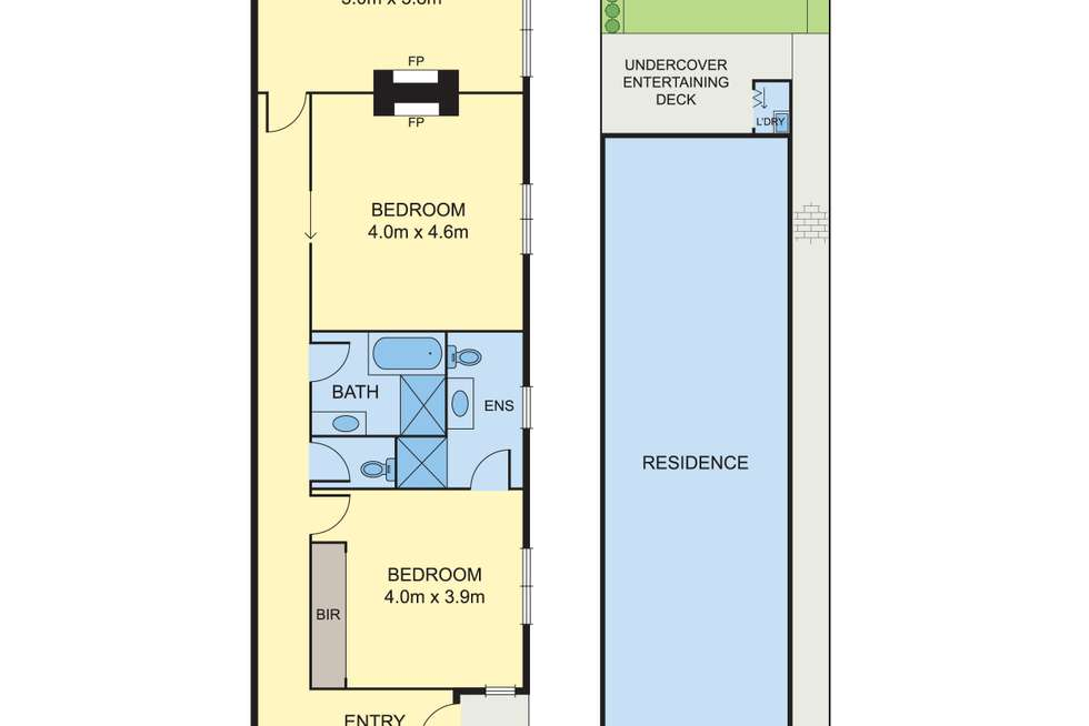 Floorplan of Homely house listing, 59A Brougham Street, North Melbourne VIC 3051