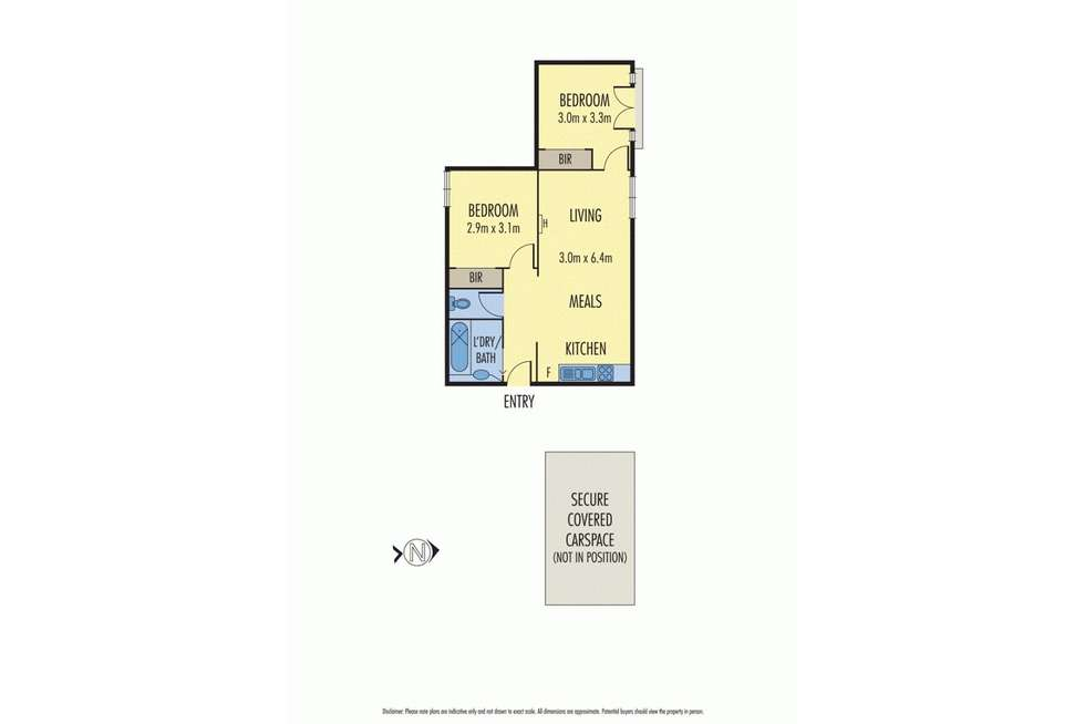 Floorplan of Homely apartment listing, 27/202 The Avenue, Parkville VIC 3052