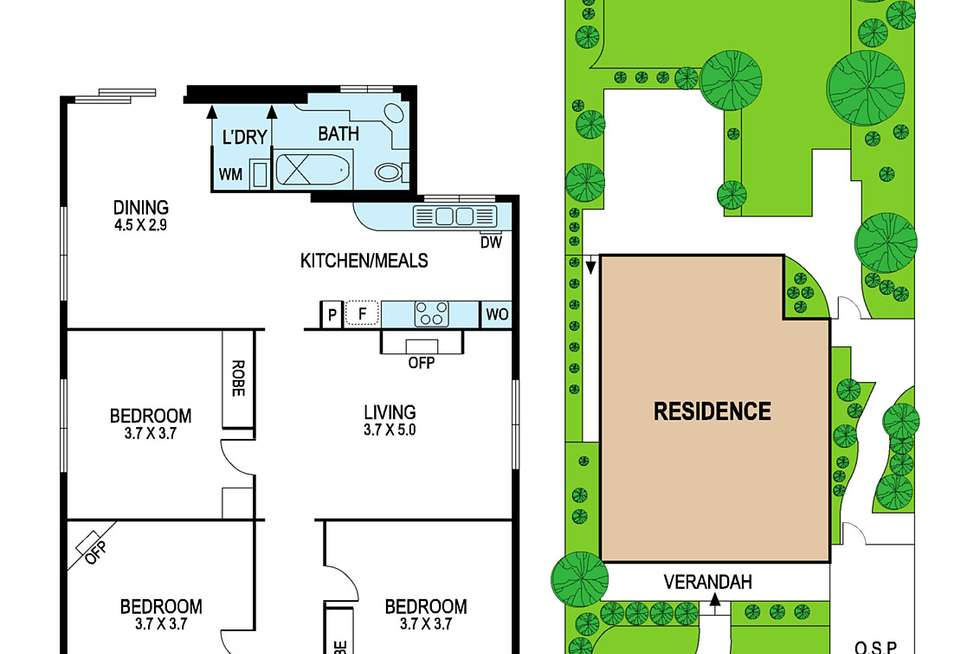 Floorplan of Homely house listing, 16 Perth Street, Murrumbeena VIC 3163