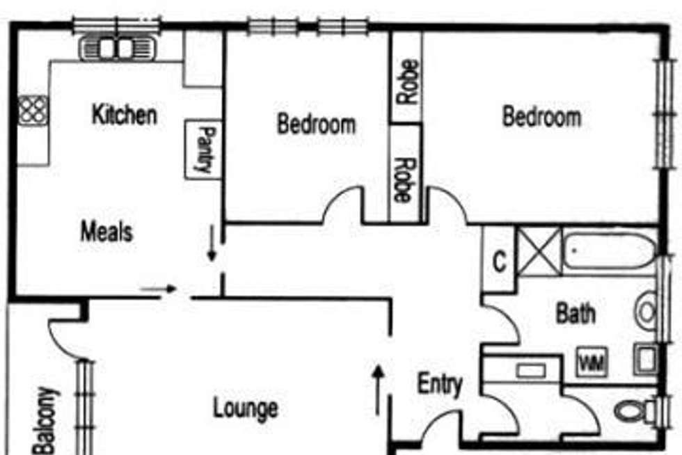 Floorplan of Homely apartment listing, 11/1015 Glenhuntly Road, Caulfield VIC 3162