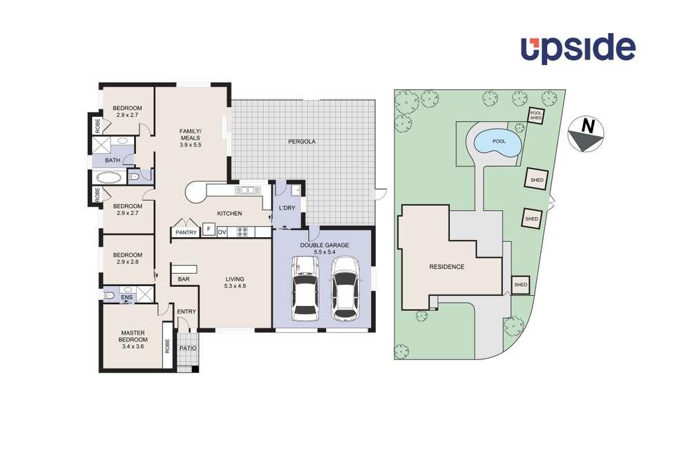 Floorplan of Homely house listing, 57 River Road, Tahmoor NSW 2573