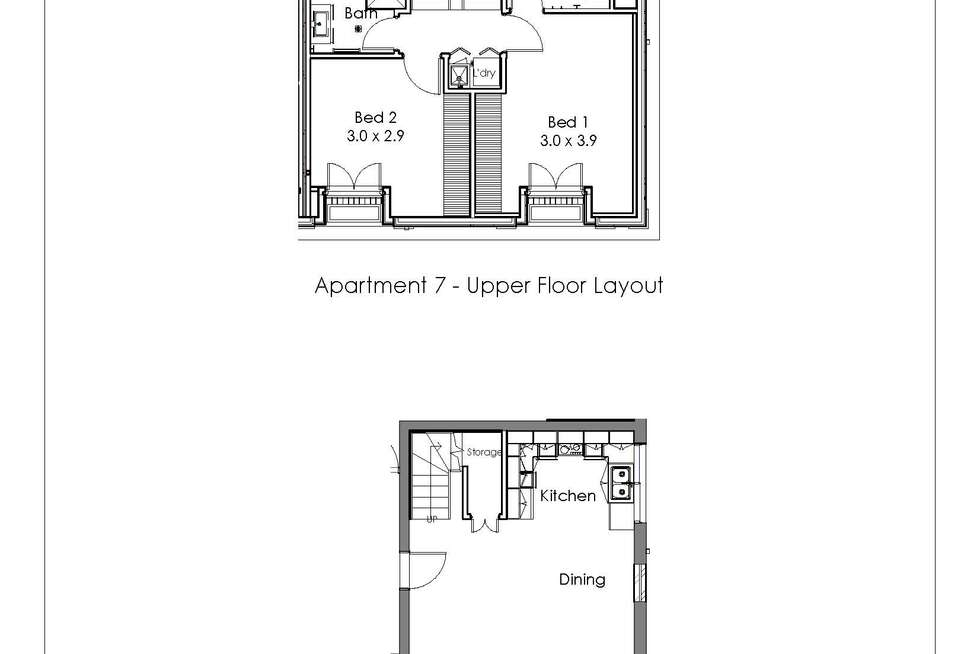 Floorplan of Homely apartment listing, 7/2 Seymour  Avenue, Armadale VIC 3143