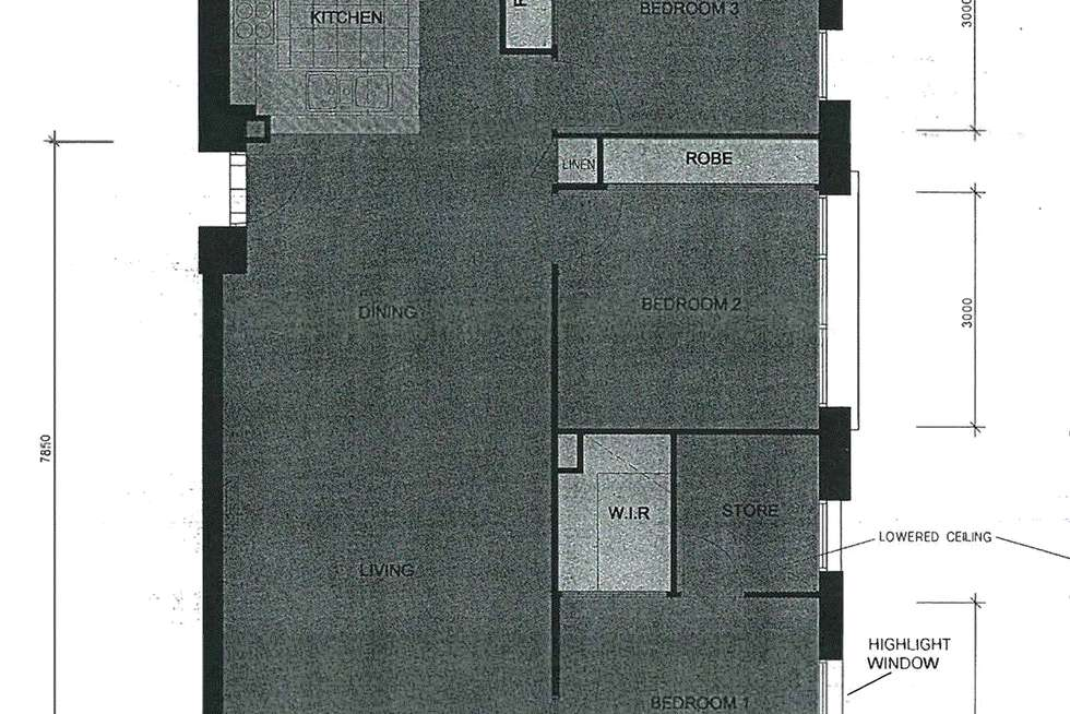Floorplan of Homely apartment listing, 1311/668 Bourke Street, Melbourne VIC 3000