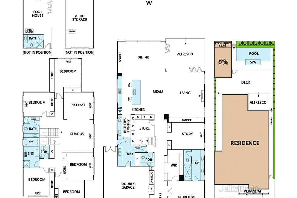 Floorplan of Homely house listing, 4 Iffley Court, Ivanhoe VIC 3079