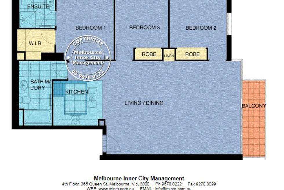 Floorplan of Homely apartment listing, 92/22 Kavanagh Street, Southbank VIC 3006