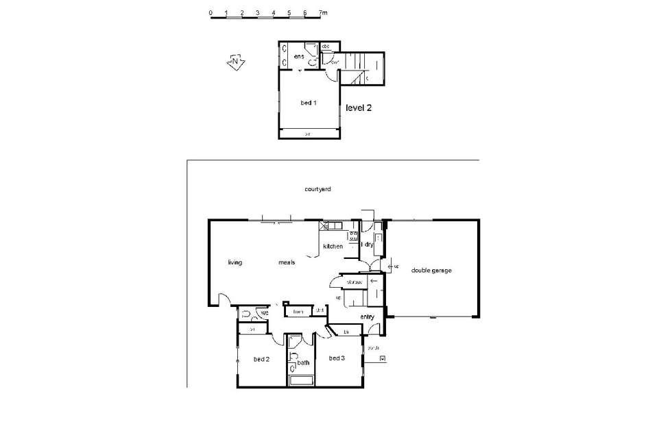 Floorplan of Homely townhouse listing, 3/33 James Street, Heidelberg Heights VIC 3081