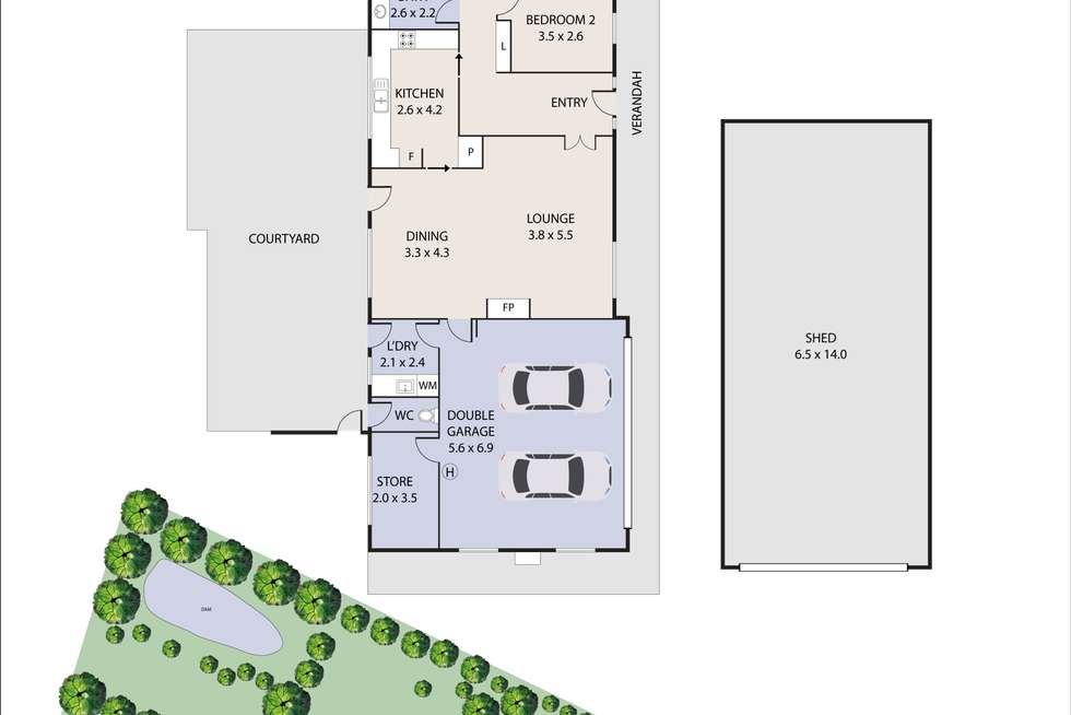Floorplan of Homely house listing, 1049 Old Northern Road, Dural NSW 2158
