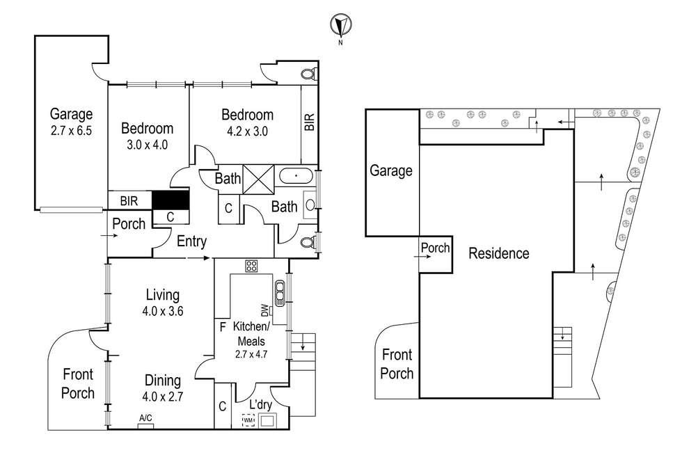 Floorplan of Homely unit listing, 5/141 Marshall Street, Ivanhoe VIC 3079