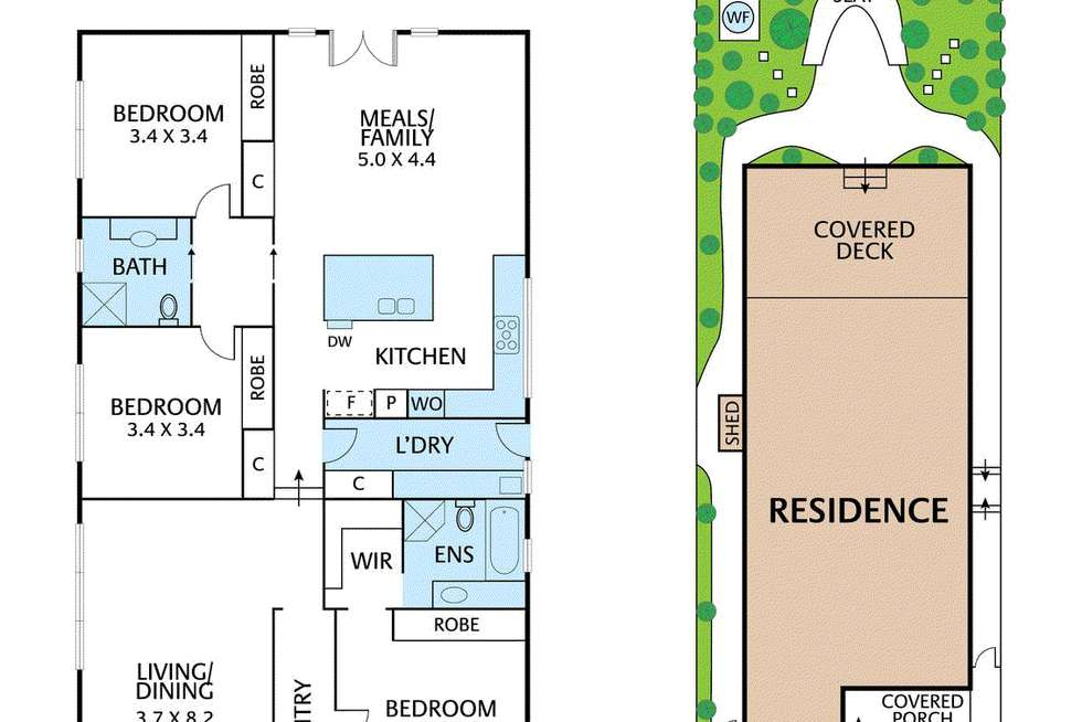 Floorplan of Homely house listing, 12 Fellows Street, Mitcham VIC 3132